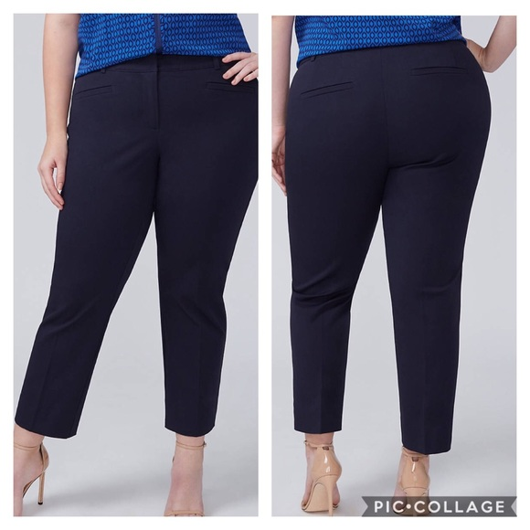 20bee3e3bc3d Lane Bryant Pants | Slacks Allie Smart Stretch Slim Crop | Poshmark